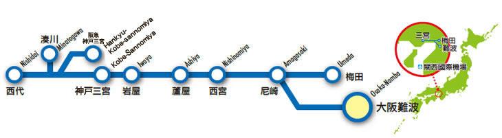 阪神全線乘車券(HANSHIN TOURIST PASS)