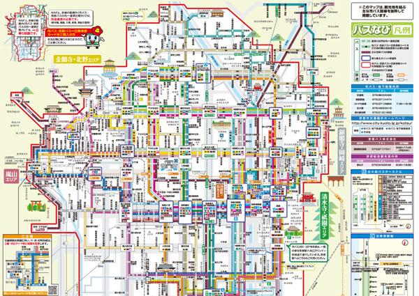 京都巴士路線圖