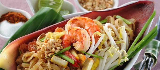 Pad thai 泰式炒麵