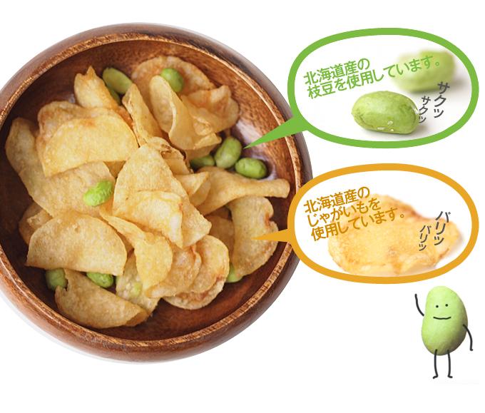 卡樂比 枝豆洋芋片