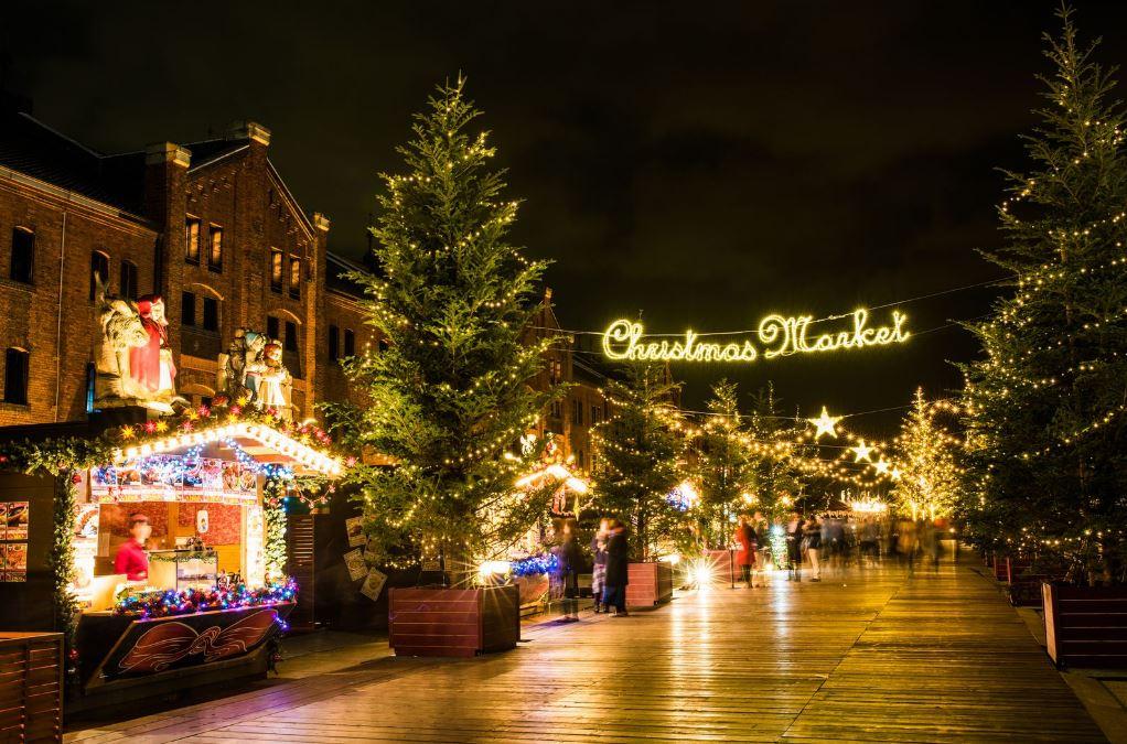 橫濱紅磚倉庫 - Christmas Market