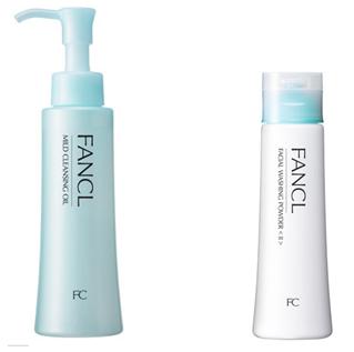 日本藥妝-FANCL 卸妝油/洗顏粉