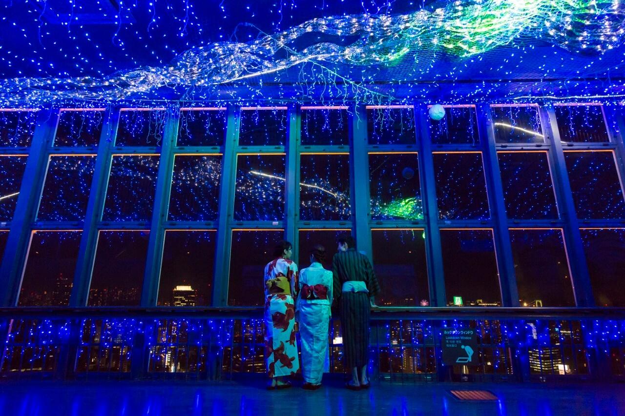 東京鐵塔天之川銀河燈節