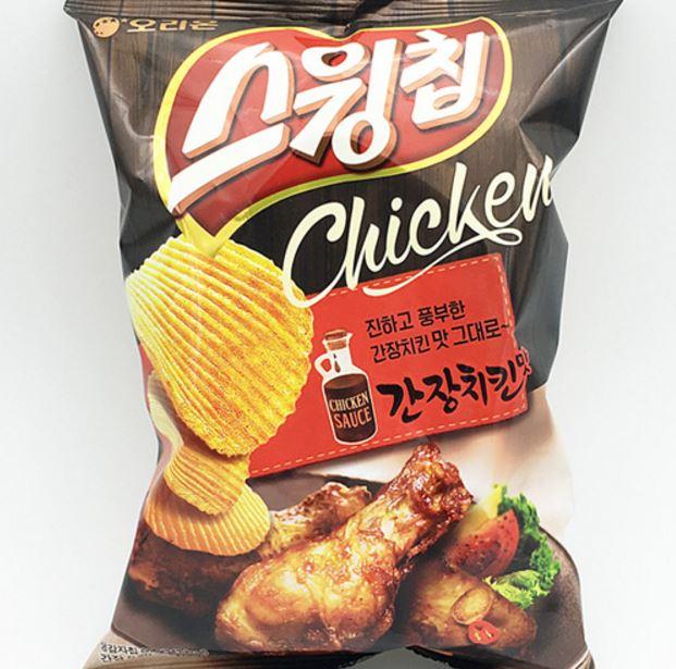 스윙칩醬油雞