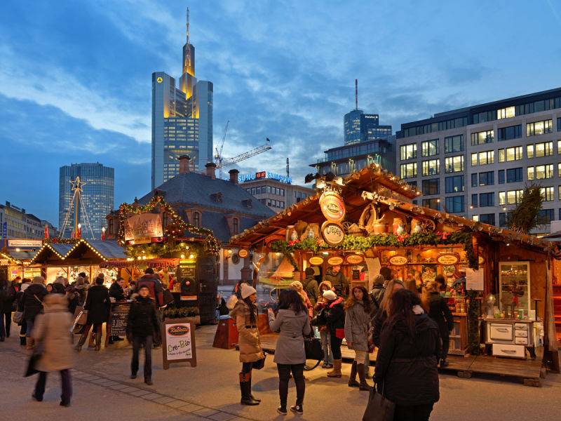 法蘭克福羅馬廣場聖誕市集