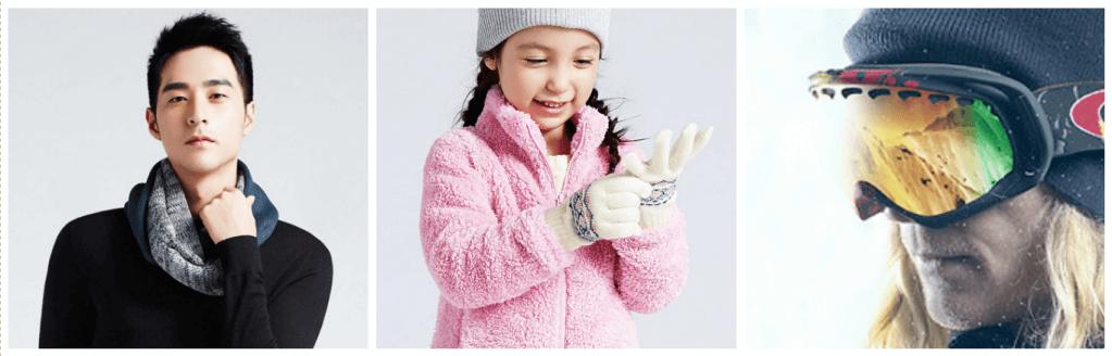 圍巾/手套/雪鏡