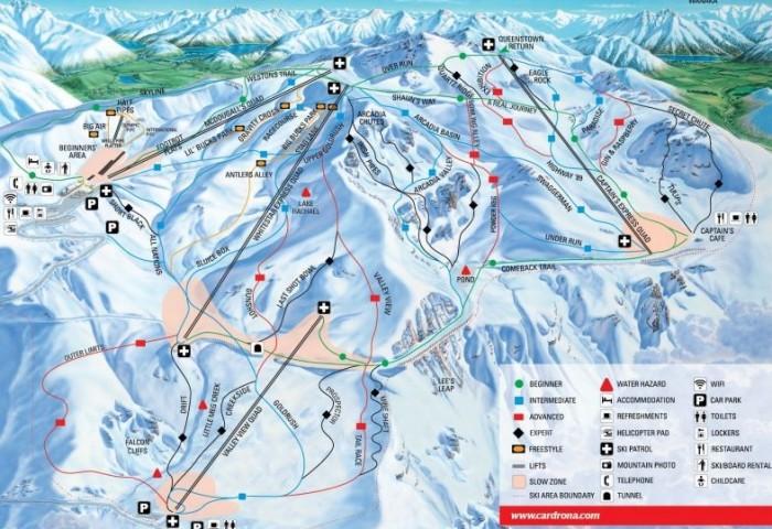 Cardrona卡德羅那滑雪場