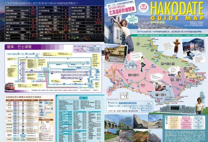 函館綜合導覽地圖