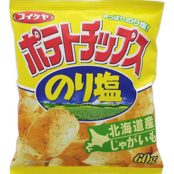 湖池屋海苔鹽味洋芋片