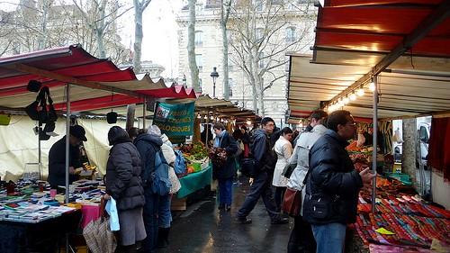 Marché Monge蒙赫市場