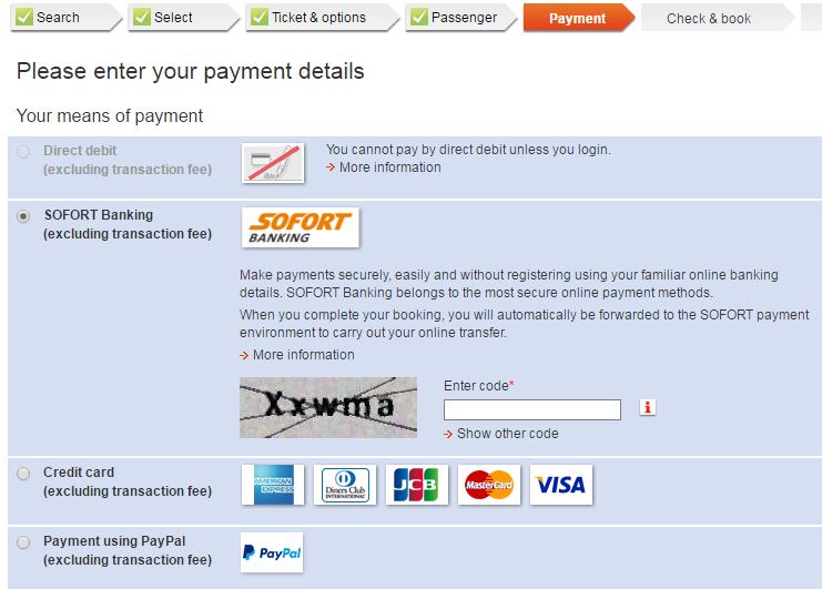 STEP 5. 付款資訊