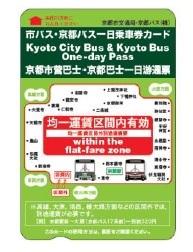 京都巴士一日券
