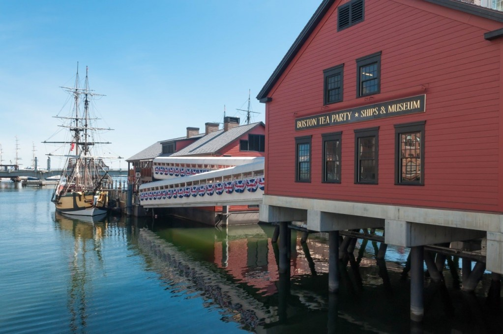Boston Tea Party Ships & Museum 波士頓傾茶事件博物館