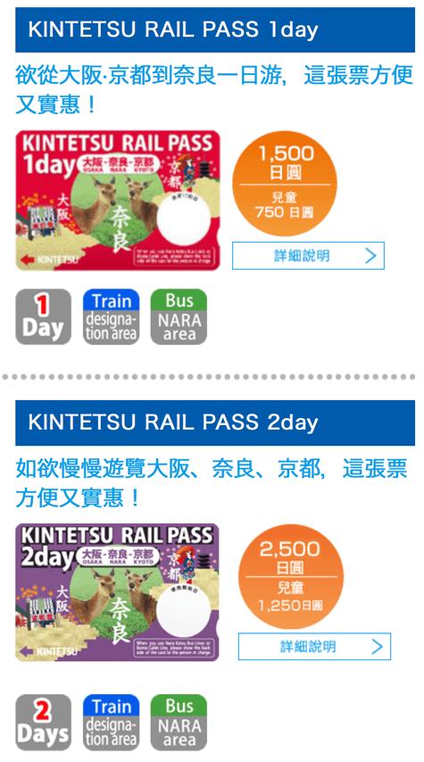 近鐵:京都線優惠券
