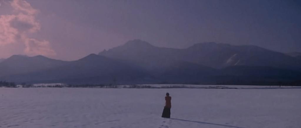 《情書》最經典的拍攝場景