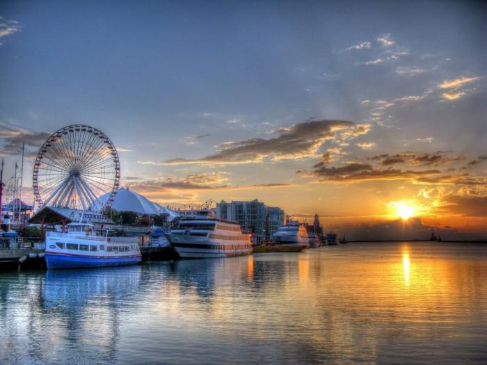 海軍碼頭 Navy Pier