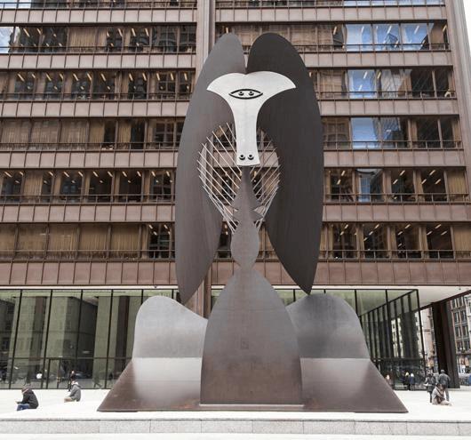 畢加索塑像 Picasso Statue