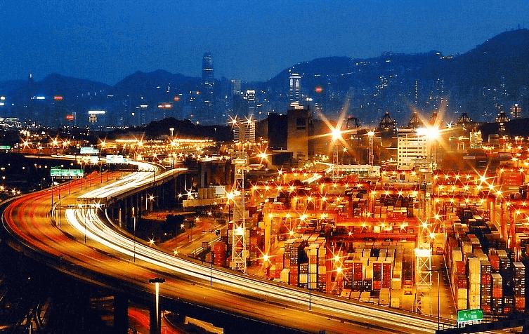 葵青貨櫃碼頭