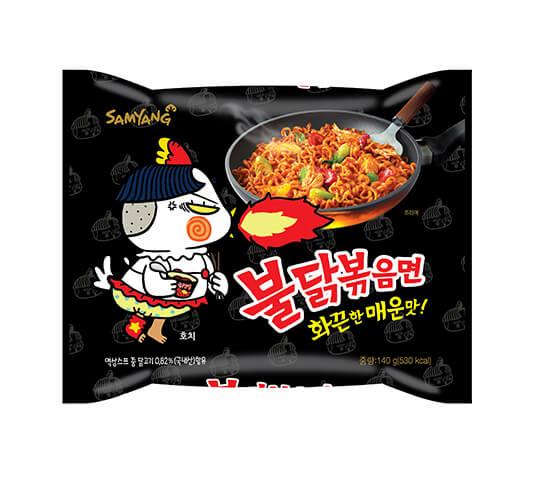 三養辣雞炒麵 삼양 불닭볶음면