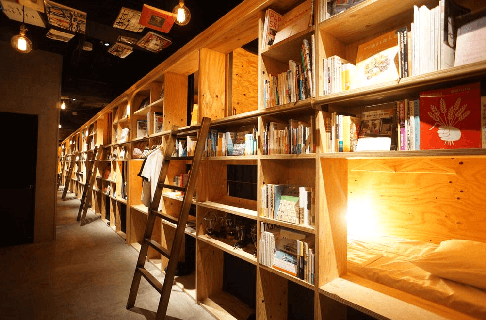 東京書香入夢旅館 (Book And Bed Tokyo)