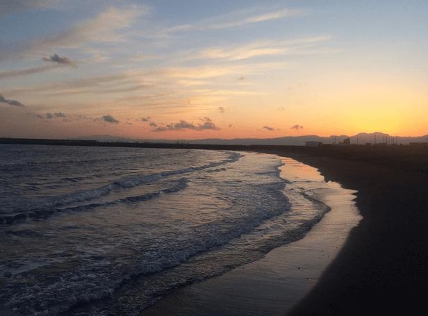 茅之崎海灘(Chigasaki Beach)
