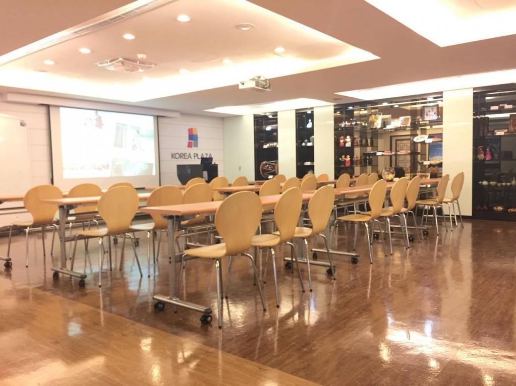 講座、韓語教學空間