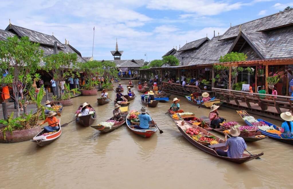 四方水上市場Pattaya Floating Market