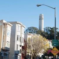 美國: 位於北灘的 San Francisco 置高點 – Coit Tower (柯伊特塔) & 小義大利區 (Coit Tower @ North Beach, San Francisco, CA)