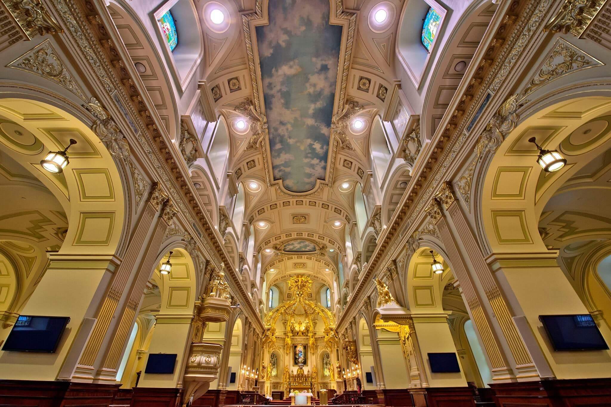凱旋聖母教堂Basilique Cathedrale - Notre-Dame-de-Quebec