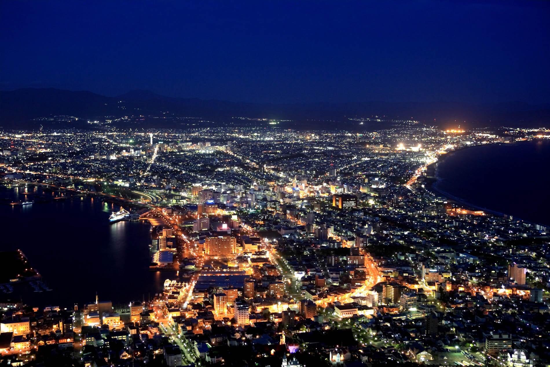 函館市|函館山(はこだてやま)