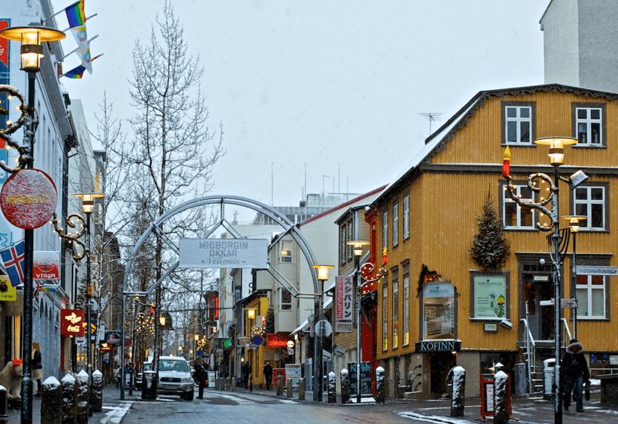 勞格威格爾購物街 Laugavegur street