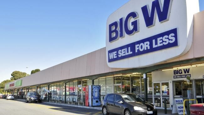 BIG W超市採購 BIG W Queen Victoria Village
