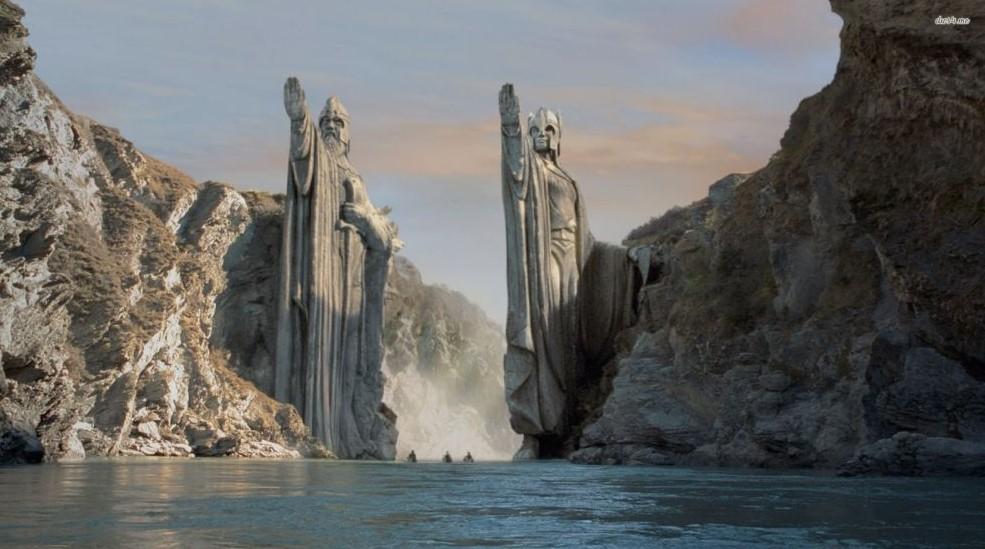 阿苟納斯巨像|安都因河諸王之柱Pillars of the Kings