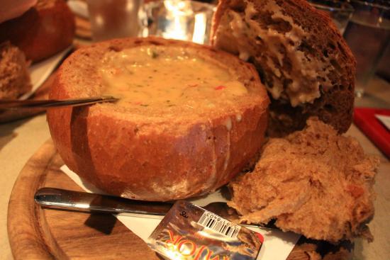 Svarta Kaffid麵包濃湯