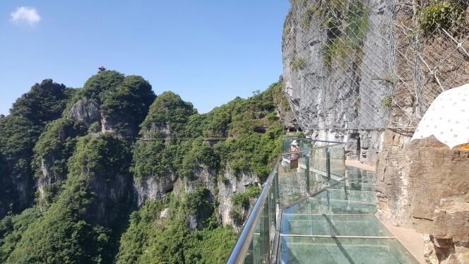 貴州銅仁萬山玻璃棧道