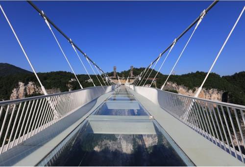 湖南省張家界大峽谷玻璃橋