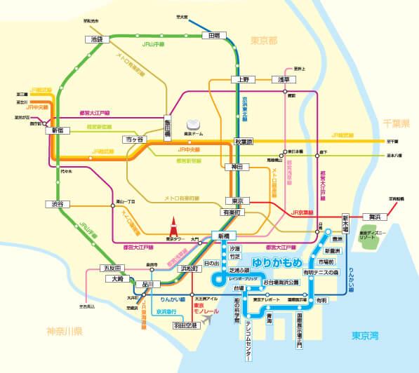 東京攻略》百合海鷗線周邊 推薦8大景點