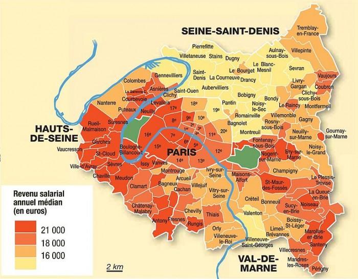 認識巴黎行政20區