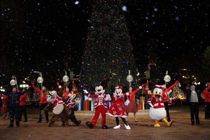 香港迪士尼樂園大型聖誕舞會