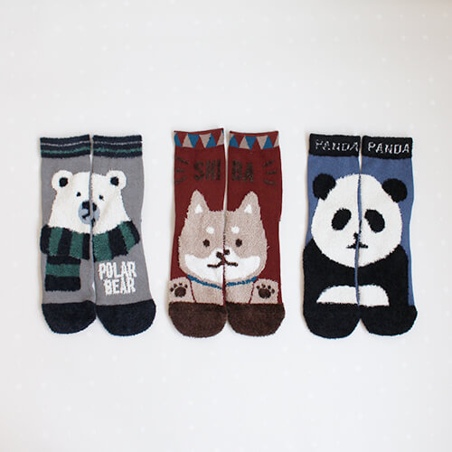 COUCOU x 動物暖暖造型襪
