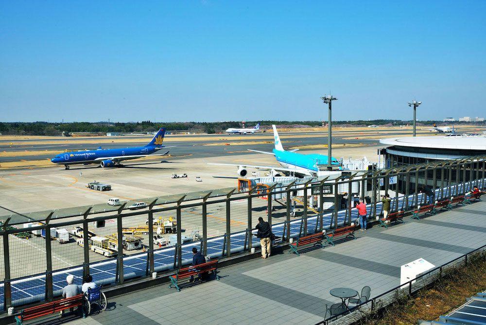 成田機場展望台