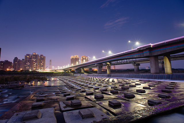 新竹|頭前溪豆腐岩