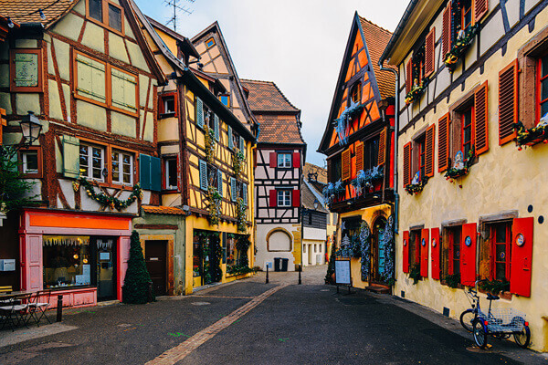 Colorful Houses in Petit Venice, Colmar, France