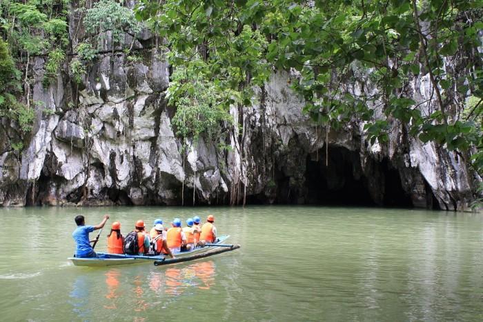 公主港地下河流公園(Puerto Princesa Underground River)