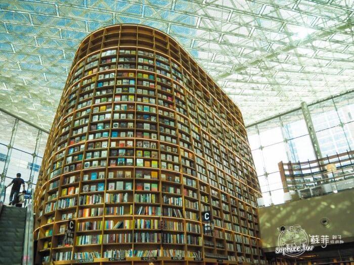 韓國首爾景點|最美的星空圖書館。夢幻IG打卡景點 來當氣質美少女!