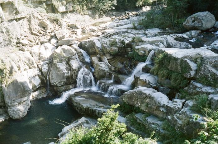 神仙谷瀑布