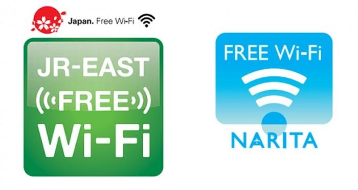 關東地區─JR-EAST FREE Wi-Fi & 成田機場Free Wi-Fi