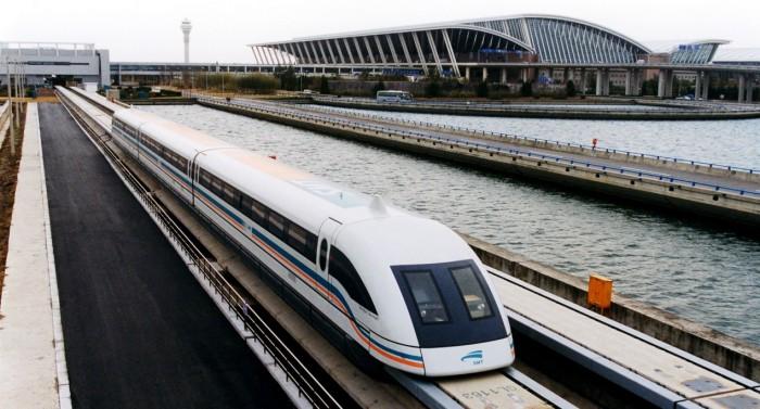 磁浮列車+地鐵