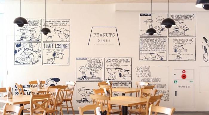 PEANUTS DINER史努比餐廳