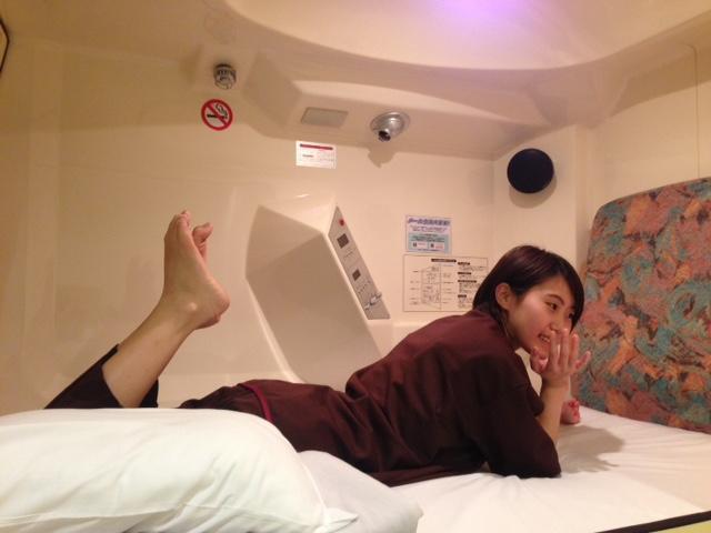 大阪心齋橋豪華桑拿浴室膠囊旅館